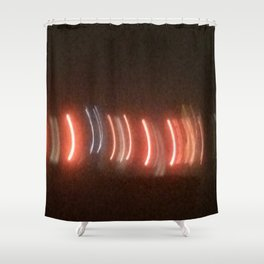 Abstracte Light Art in the Dark 21 Shower Curtain