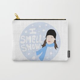 I Smell Snow Carry-All Pouch