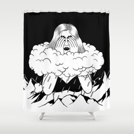 A Long Rainy Season Shower Curtain