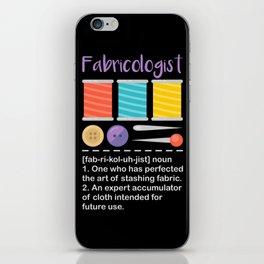 Fabricologist iPhone Skin