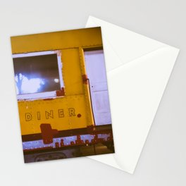 Vintage Diner Stationery Cards