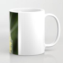 Yellow Pom Pom Flower Coffee Mug