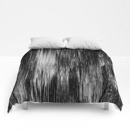 rain drop night Comforters