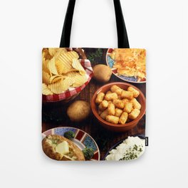Potato Foods Tote Bag