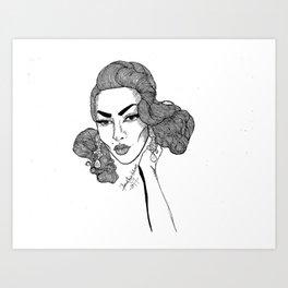 Violet Chachki Art Print