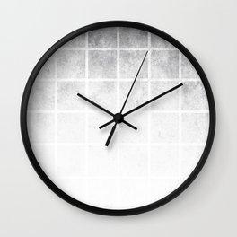 SQUARE GRUNGE Wall Clock