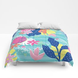 Tropical Vibes Comforters