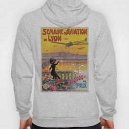 1910 Aviation week Lyon France Hoody