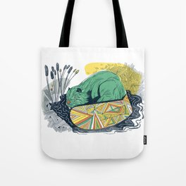 The Beaver Tote Bag