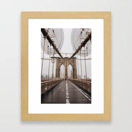 Brooklyn Baby Framed Art Print