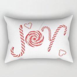 Sweet joy candy canes Rectangular Pillow