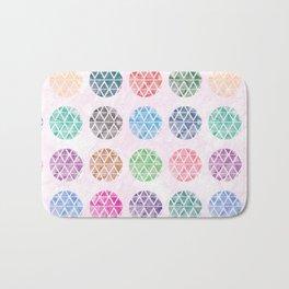 Colorful Geometric II Bath Mat