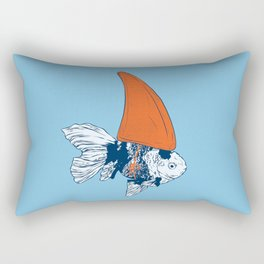 Big fish in a small pond Rectangular Pillow