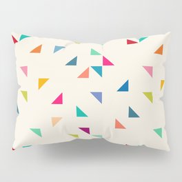Seamless geometric pattern with triangles Pillow Sham