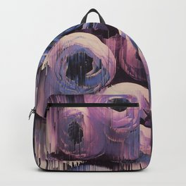 Floral Glitches Backpack