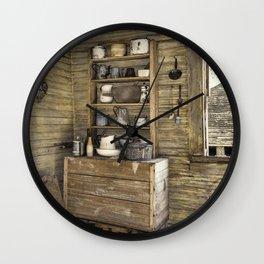 Old kitchen in Louisiana Wall Clock