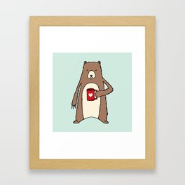 Coffee Anyone? Framed Art Print