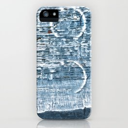 Weldon Blue abstract watercolor iPhone Case