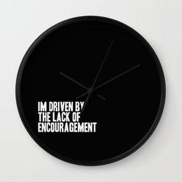 Driven Wall Clock