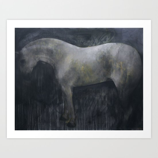 The Pale Horse Art Print