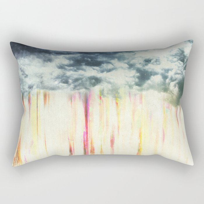 Let it rain on me Rectangular Pillow