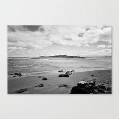 Beach - New Zealand South Coast Canvas Print
