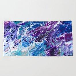Iridescent Mermaid Beach Towel