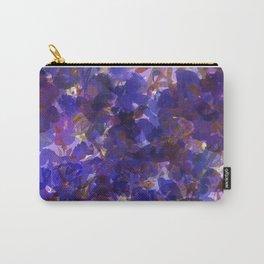 Deep Purple Violets Carry-All Pouch