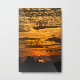 Cloudy Colored Skies pt.2 Metal Print