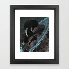 Sailor Saturn Framed Art Print