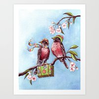 Welcome Spring! Art Print