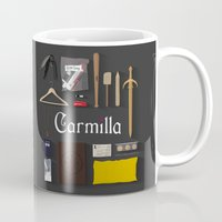 carmilla Mugs featuring Carmilla Items by CLM Design