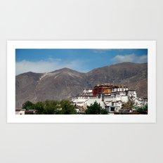Potala Palace - Tibet Art Print