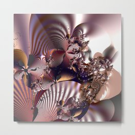 Abstract anticipation Metal Print