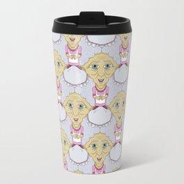 Bobblehead Grannies Everywhere Tessellation Travel Mug