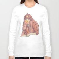 bubblegum Long Sleeve T-shirts featuring Bubblegum by Little Thunder
