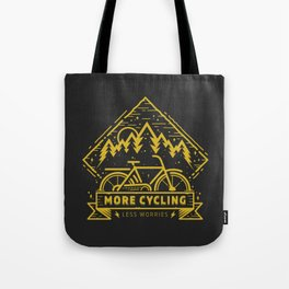 More Cycling Again Tote Bag