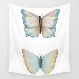Butterfly watercolor Wall Tapestry
