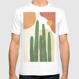 Abstract Cactus I T-shirt