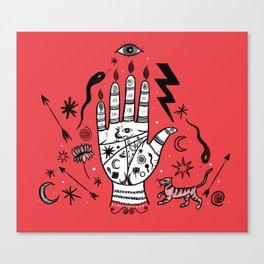 Spiritual Hand Canvas Print