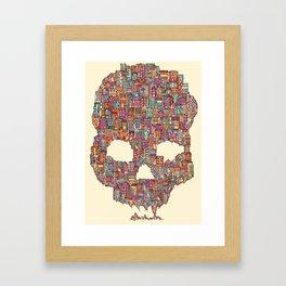 OldSkull City Framed Art Print