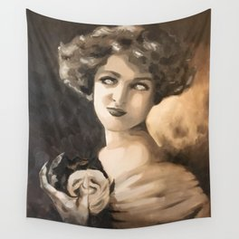 On Death's ears Wall Tapestry