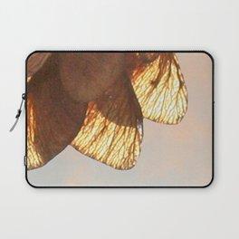 Cluster of lightened leaves Laptop Sleeve