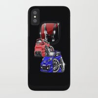 honda iPhone & iPod Cases featuring Honda world  by Xr1s
