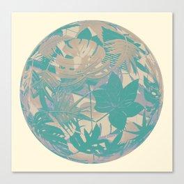 floral ball 3 Canvas Print