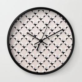 Mod Cream Wall Clock