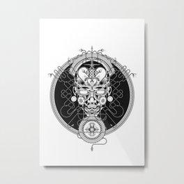 GORGON_GREY Metal Print