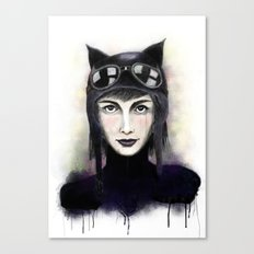 Catwoman #1 Canvas Print