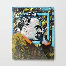 Friedrich Nietzsche Metal Print