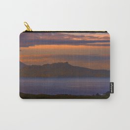 A sunset view to Rhum and Eigg Carry-All Pouch